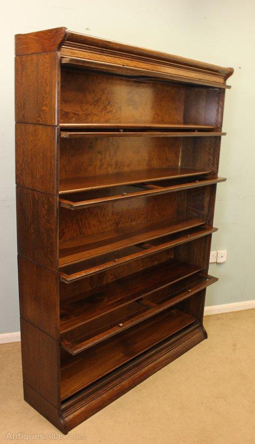 Antique Oak Stacking Bookcase Antiques Atlas