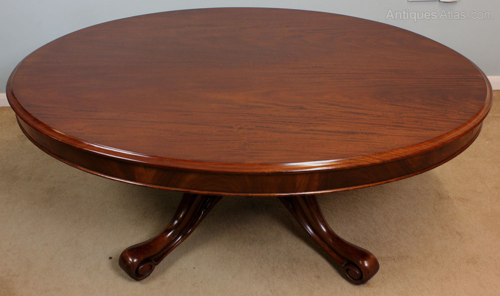 Antique Victorian Oval Coffee Table Antiques Atlas