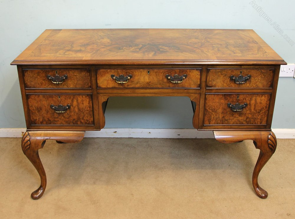 Antique Walnut Writing Desk Antiques Atlas