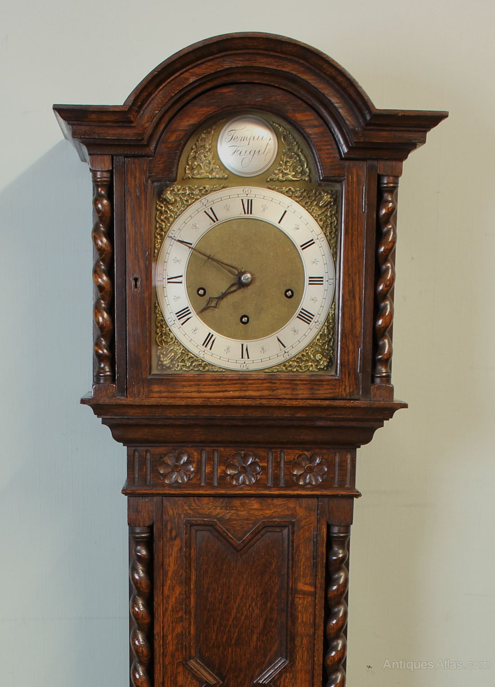 Antiques Atlas - Antique Westminster Chime Grandmother Clock,