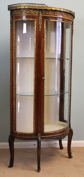 Antique Vitrine Glass Display Cabinet Antiques Atlas