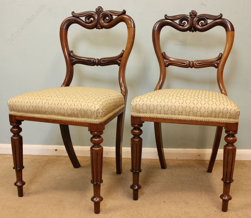 Set Six Antique Rosewood Dining Chairs Antiques Atlas : SetSixAntiqueRosewoodDininas105a999z 1 from www.antiques-atlas.com size 1000 x 866 jpeg 172kB