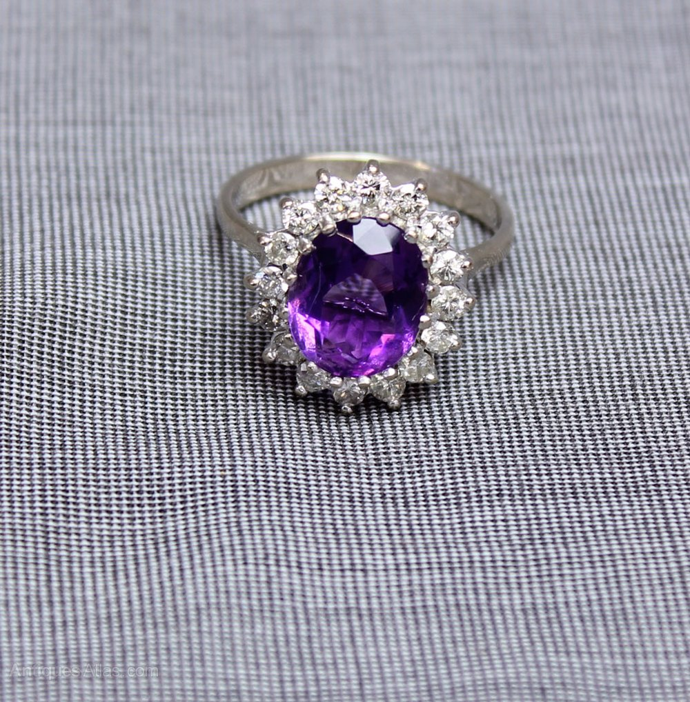 amethyst ring vintage - photo #21