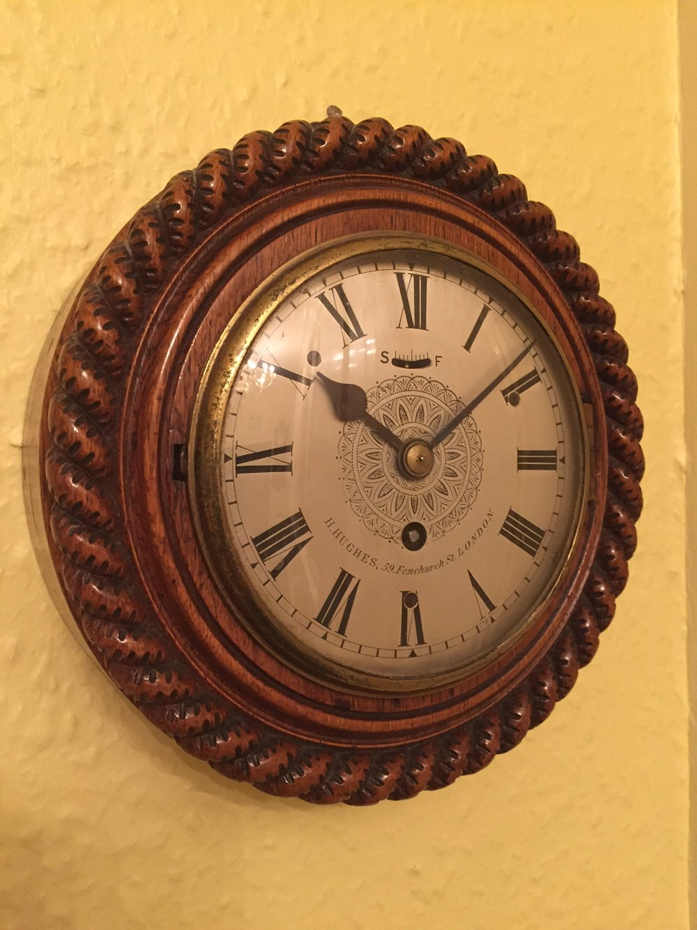 Antiques Atlas C1890 Small London Antique Wall Clock By
