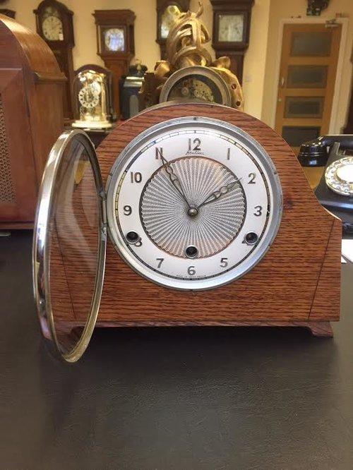 Antiques Atlas C 1938 Art Deco Mantle Clock