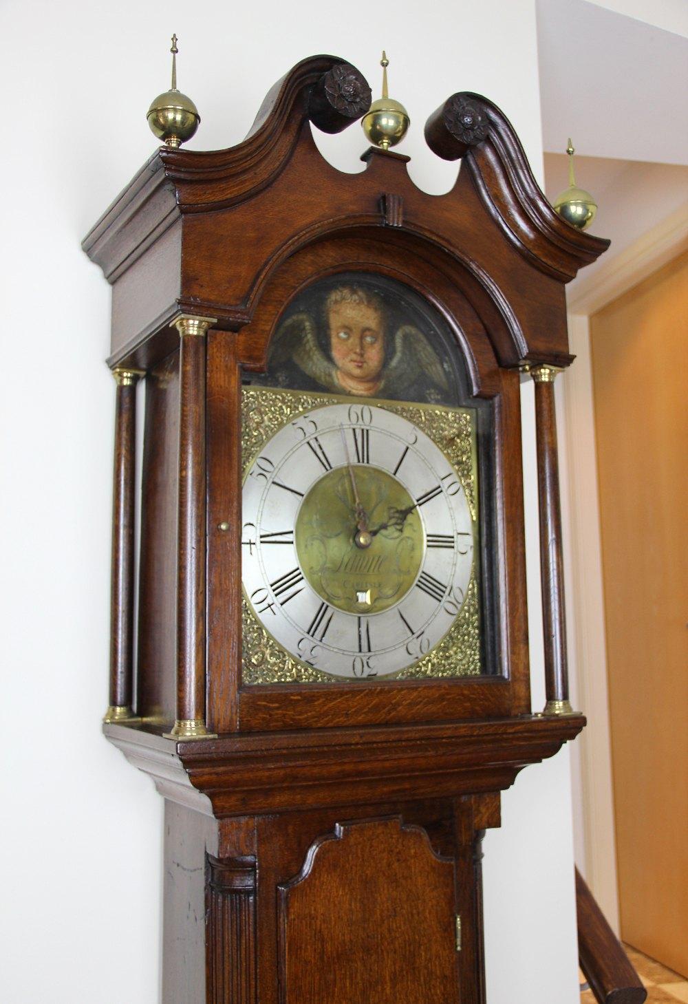 Atlas Auto Sales >> Antiques Atlas - Rare 30 Hour AUTOMETER Longcase Clock