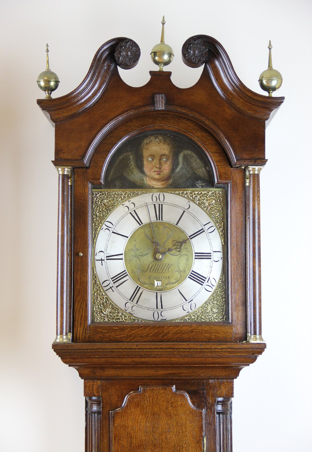 Fair Deal Auto >> Antiques Atlas - Rare 30 Hour AUTOMETER Longcase Clock