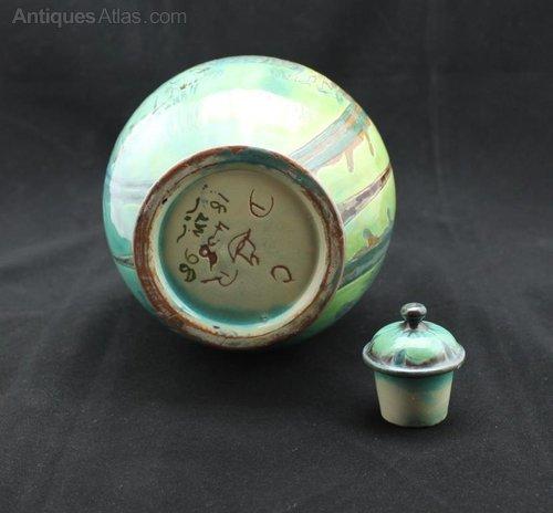 Antiques Atlas Della Robbia Bottle Vase