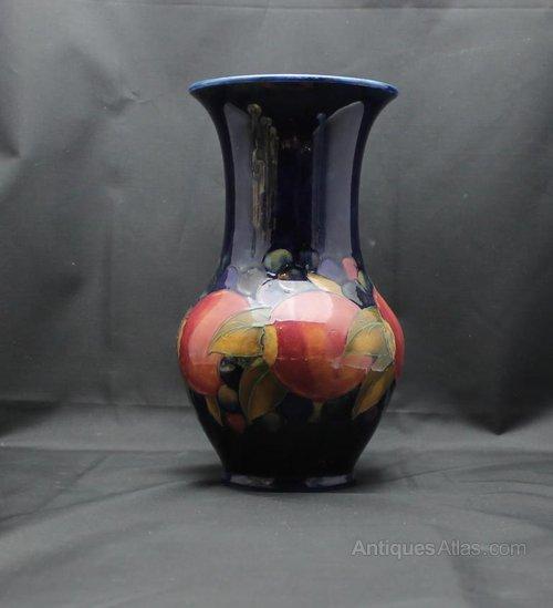 Antiques Atlas Moorcroft Vase Pomegranate Design