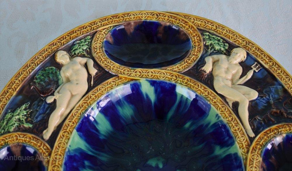 Antiques Atlas Minton Majolica Palissy Renaissance Platter