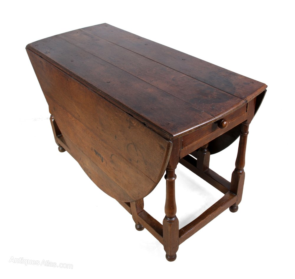 Antique Oak Table ~ Antique oak drop leaf table c antiques atlas