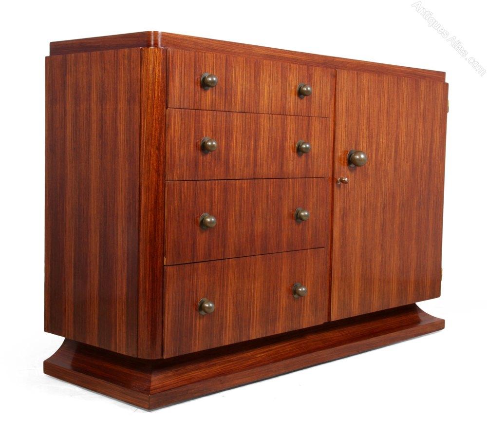 art deco sideboard in rosewood c1920 france antiques atlas. Black Bedroom Furniture Sets. Home Design Ideas