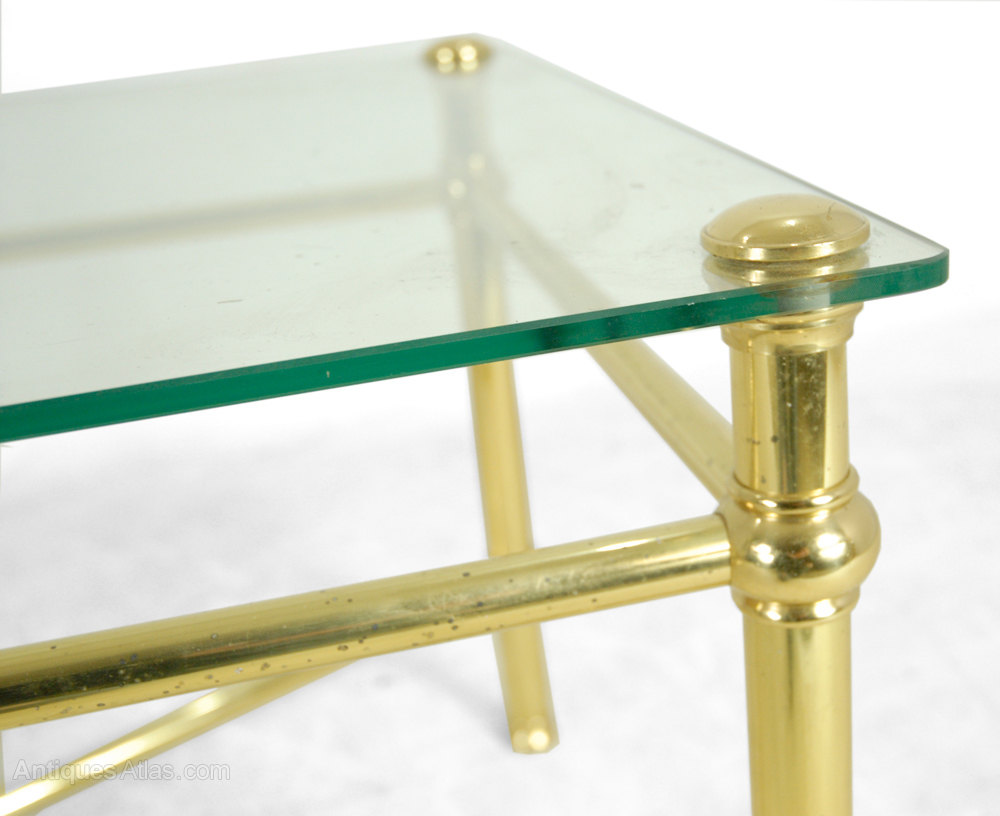 Image Result For Modern Antique Brass Coffee Table