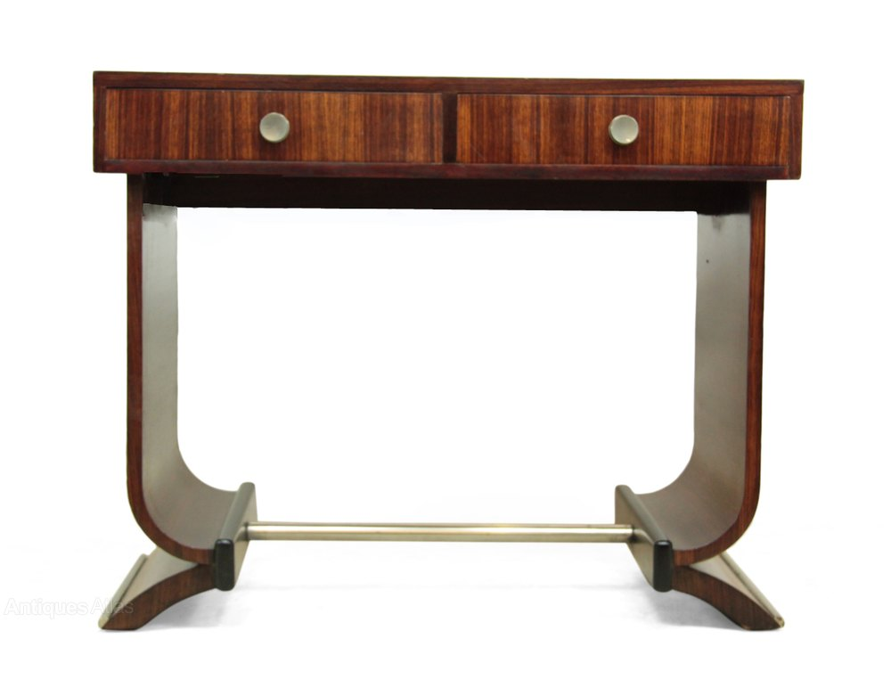 french art deco console table in rosewood c1920 antiques. Black Bedroom Furniture Sets. Home Design Ideas
