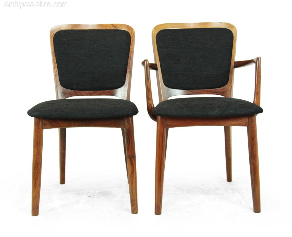 Antiques Atlas Mid Century Dining Chairs Danish C1960