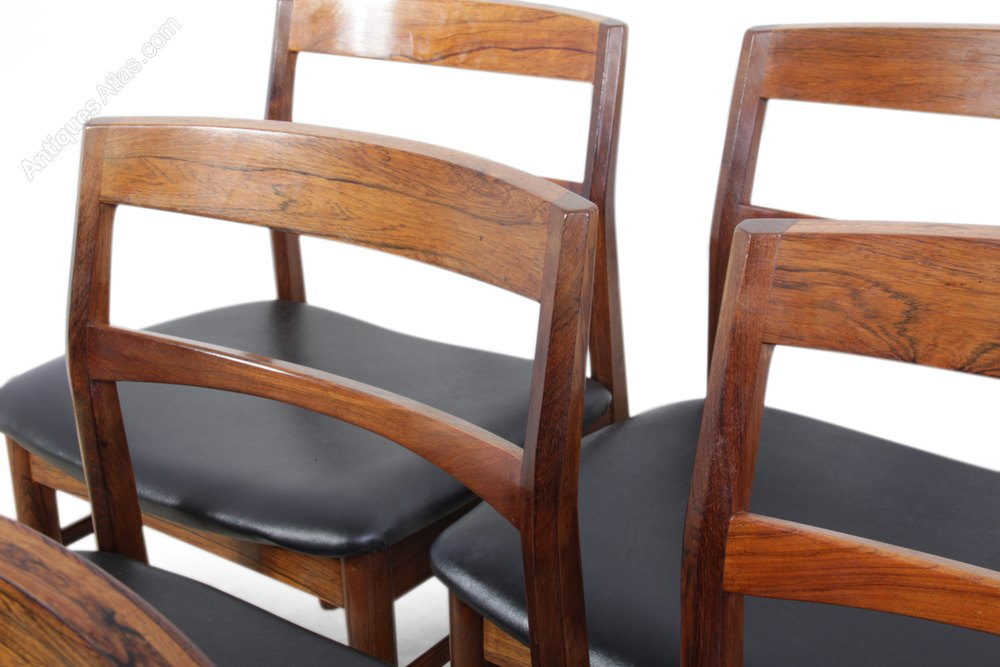 Mid Century Dining Chairs By Rosengren Hansen Antiques Atlas