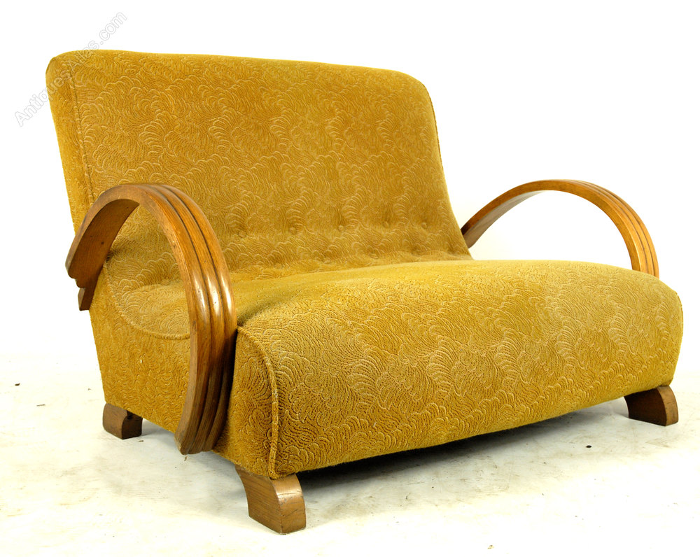 Original 1930 S Art Deco Sofa Antiques Atlas