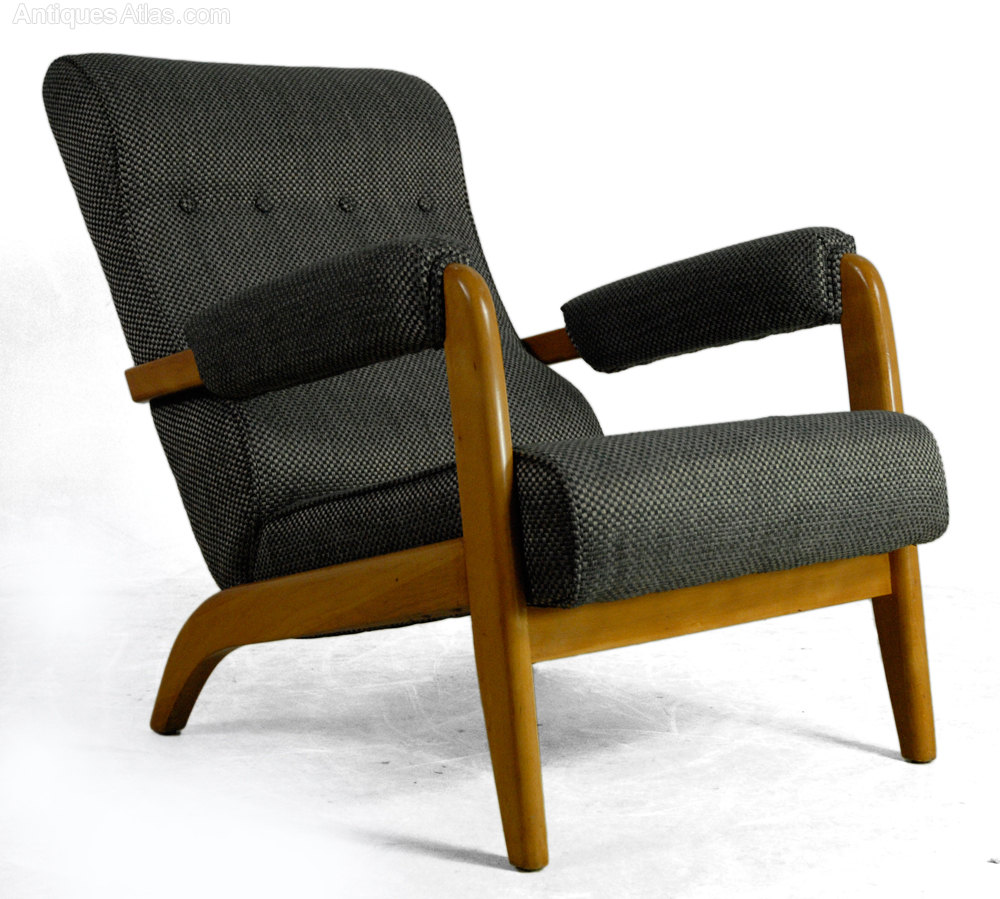 Antiques Atlas Pair Of Mid Century Modern Chairs