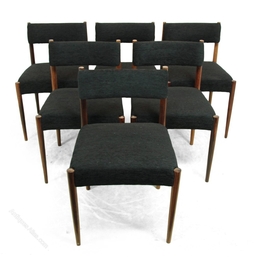 Antiques Atlas Rosewood Dining Chairs By Robert Heritage