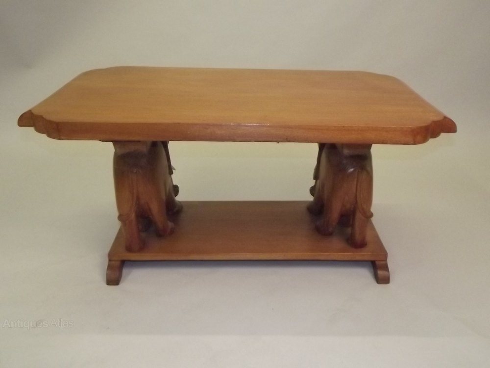 Antiques Atlas A Colonial Coffee Occasional Table In Teak