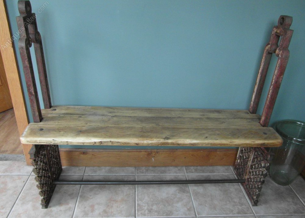 Antiques atlas archictectural style bench for Architecture antique