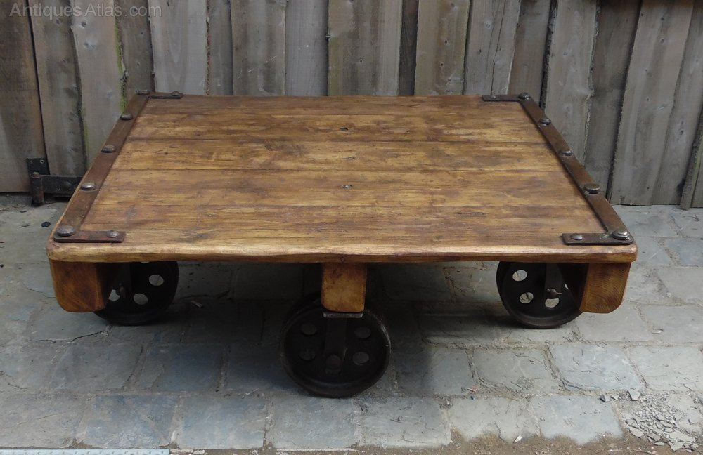 Trolley Coffee Table Antiques Atlas
