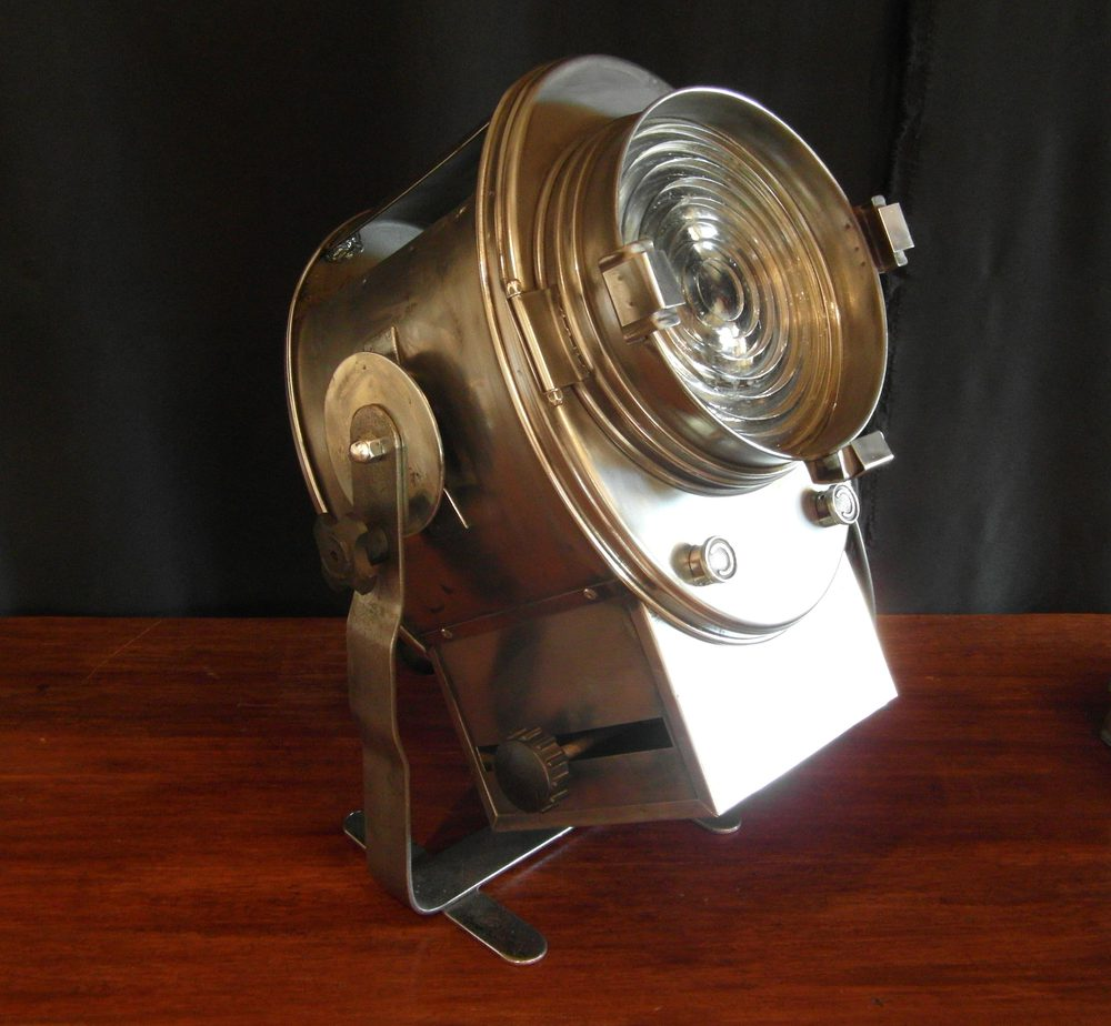 Vintage French Theatre Stage Light