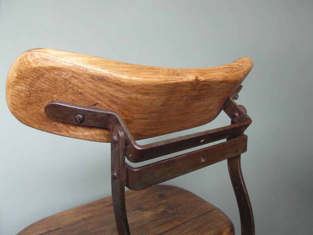 ... Vintage Industrial Chair