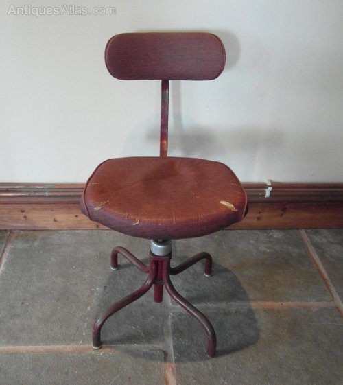 Vintage Industrial fice Chair