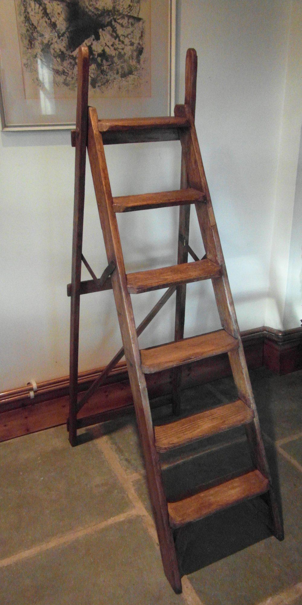 Vintage Wooden Step Ladders Antiques Atlas