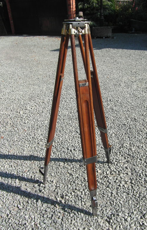 Vintage Wooden Tripod Online Sex Game