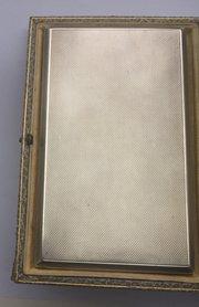 54233e85a971 £95.00  125.69 €107.19 Silver Cigarette Case Melbourne Antiques Antique Art  Deco Asprey Cigare