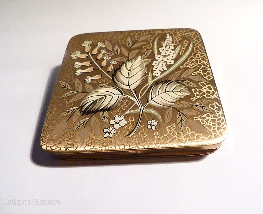 Antiques Atlas Antique Gifts For Her Zenette Compact Mirror