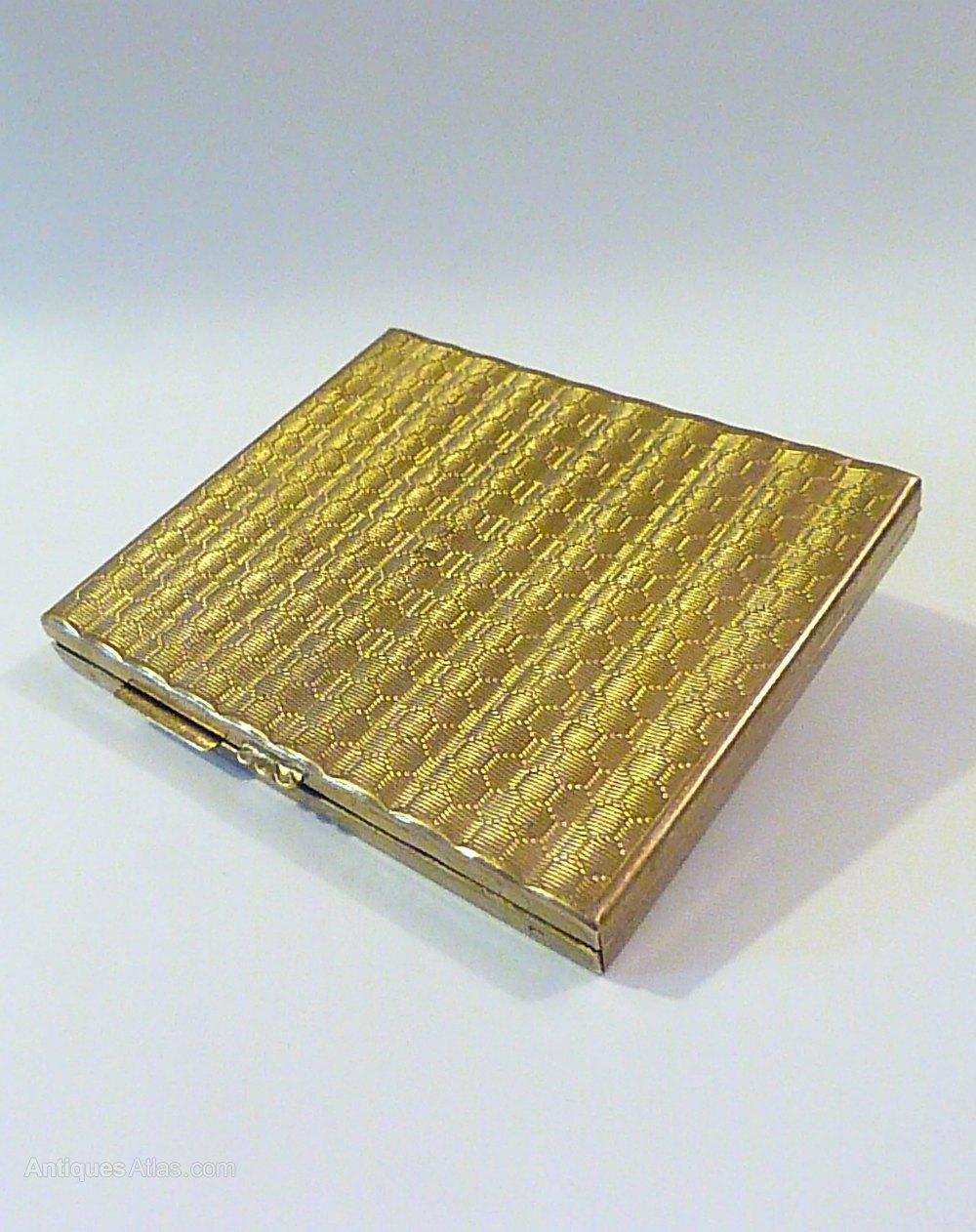 Antiques Atlas Rare Gwenda Cigarette Case Compact