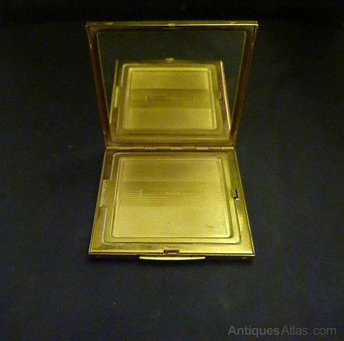 Antiques Atlas Vintage Zenette Powder Compact