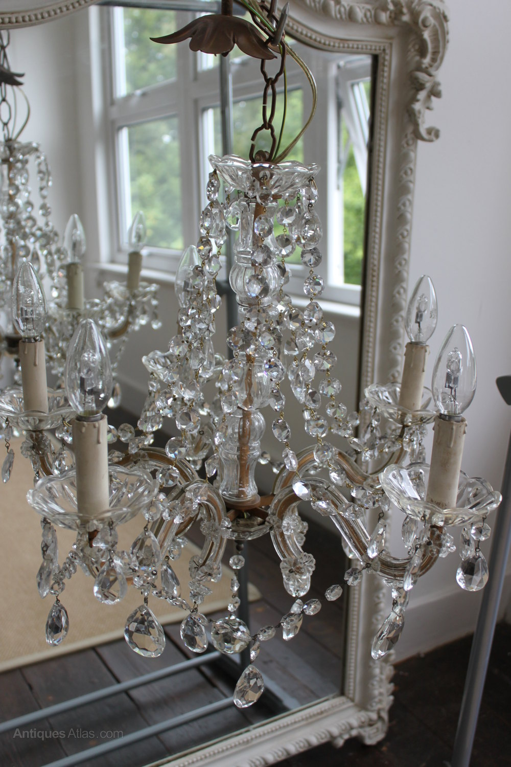 Antiques Atlas Marie Therese 5 Arm French Chandelier