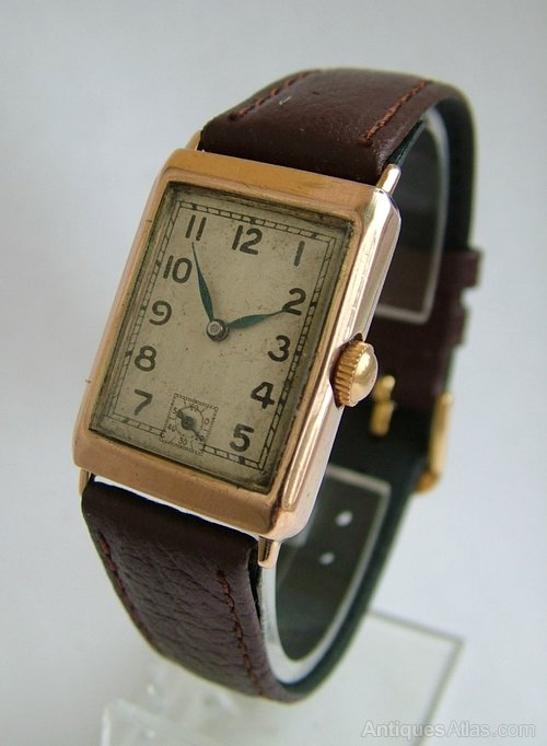 antiques atlas 1930s 9 carat gold rotary wrist