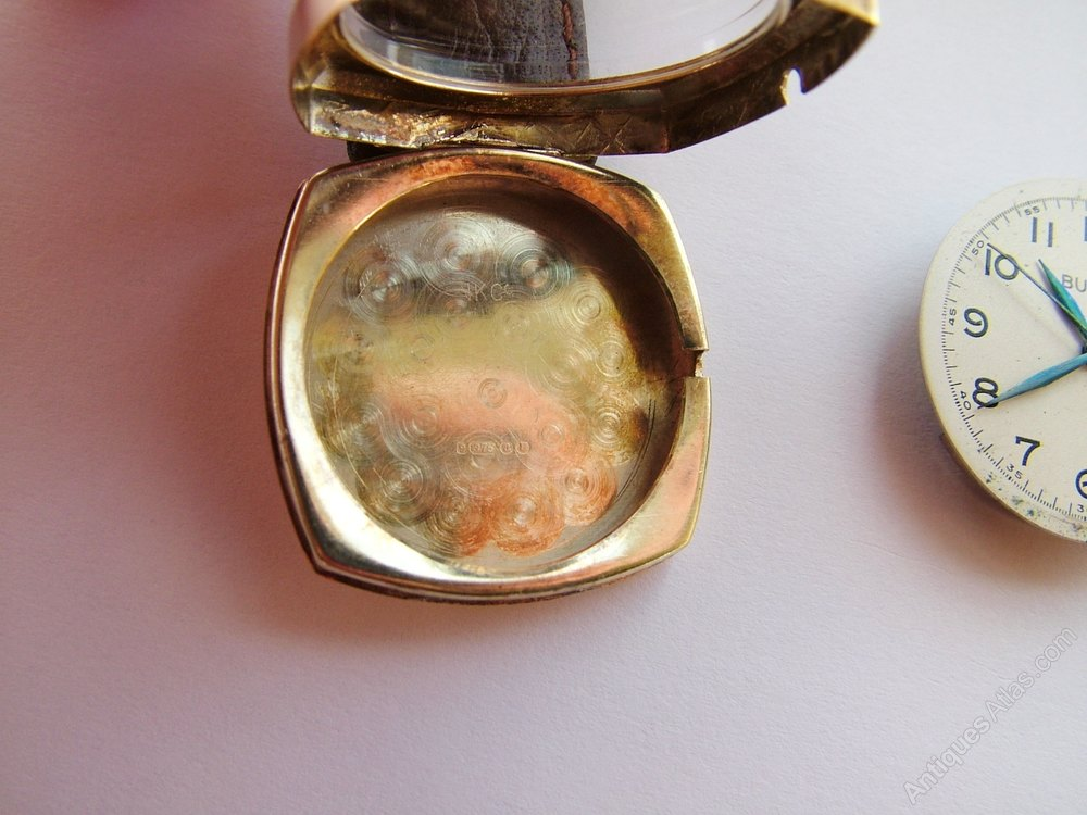 antiques atlas 9 carat gold 1950s bulova wrist