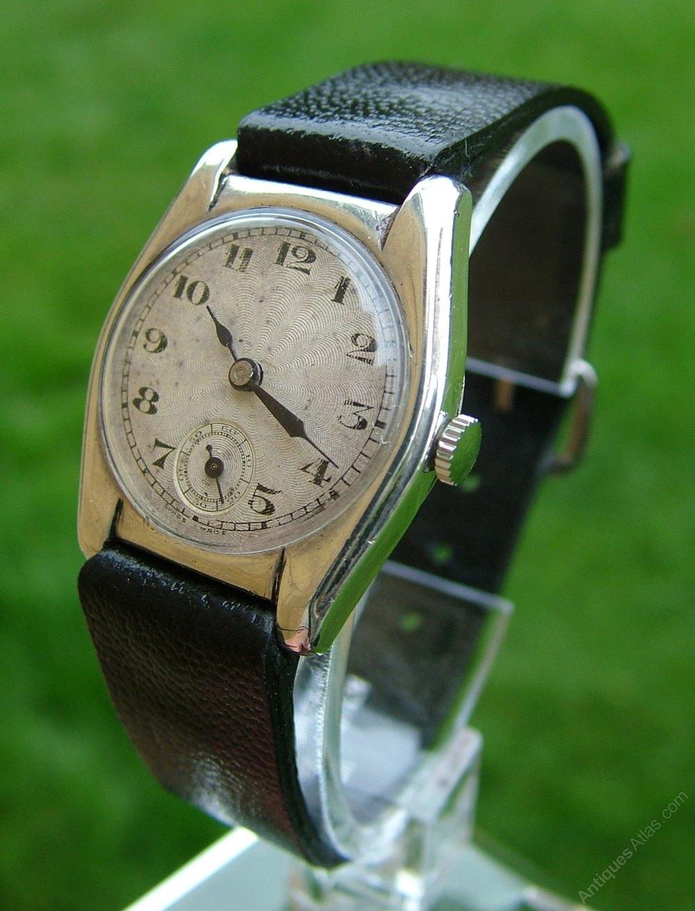 Antiques Atlas - A 1930s Hand-winding Wrist Watch