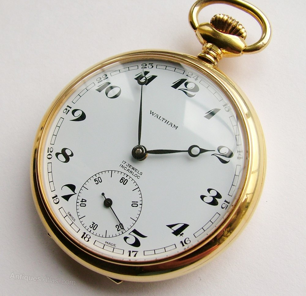 Taking apart a Waltham pocket watch, Part 1 of 2 - YouTube