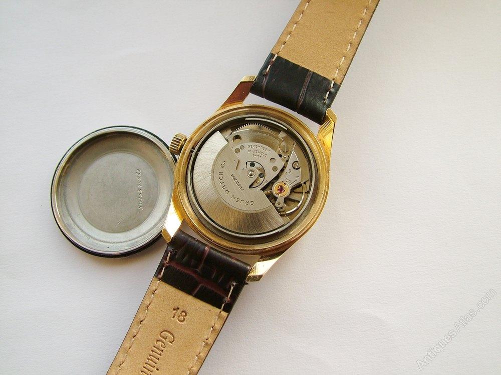 antiques atlas a gents 1960s gruen precision wrist watch. Black Bedroom Furniture Sets. Home Design Ideas