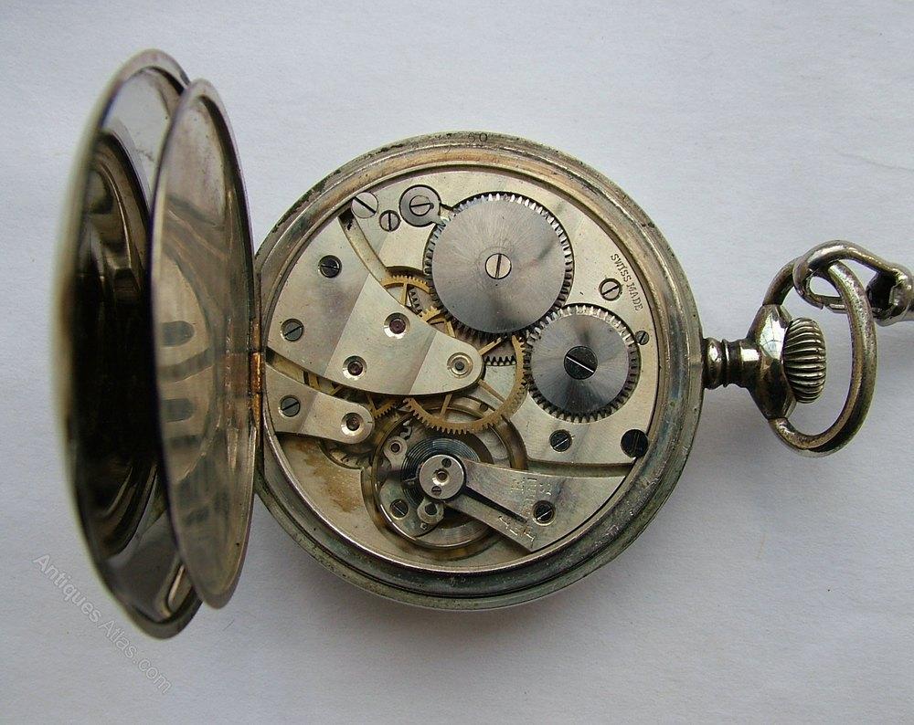 antiques atlas a vintage 1920s swiss pocket chain