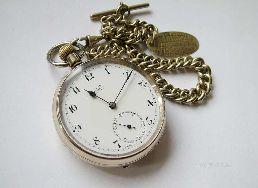 antiques atlas an antique omega pocket with chain