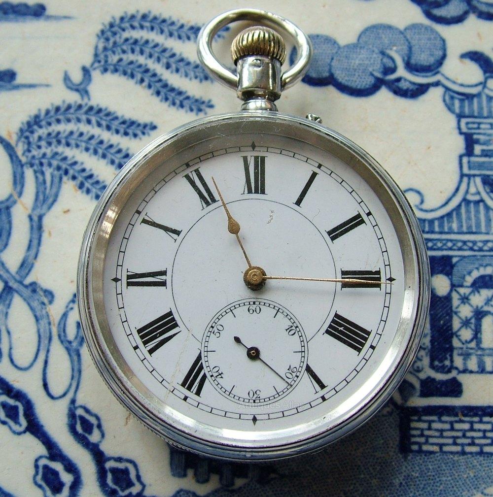 antiques atlas an antique silver pocket arthur baume