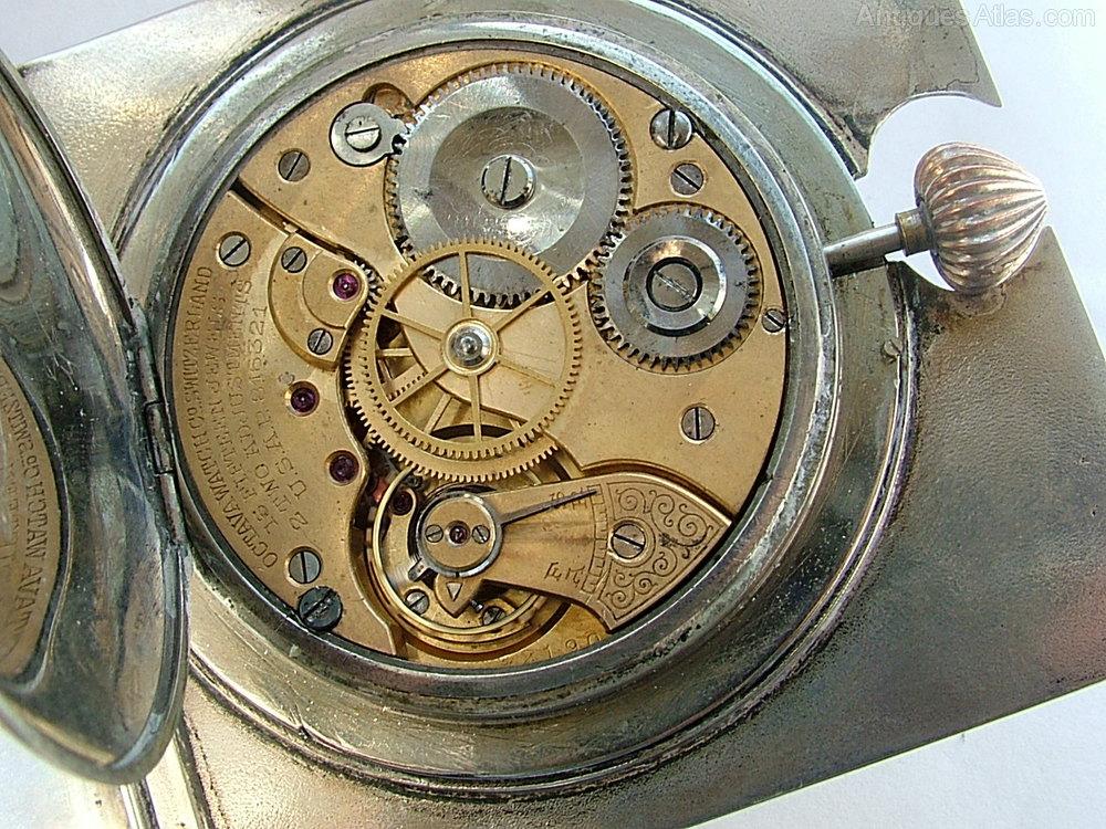 Octava-Watch-Co-Switzerland-15-jewel-Travel-Clock-Works ...
