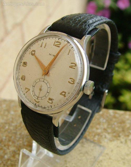 antiques atlas gents 1950s mira wrist
