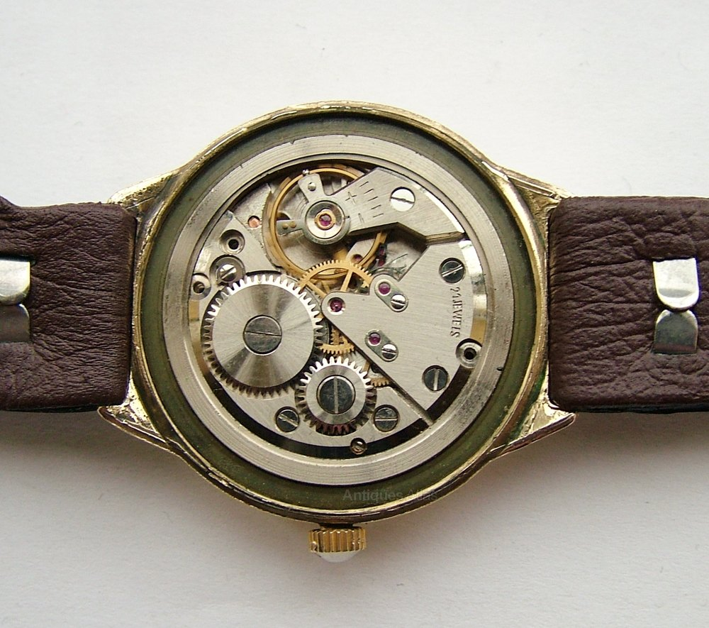 Antiques Atlas - Gents 1950s Nostrana Hand Winding Wrist Watch