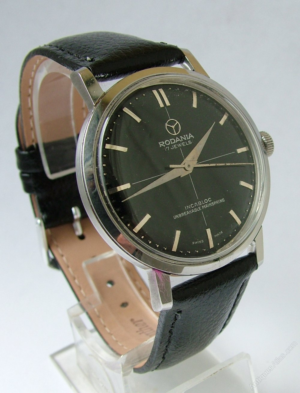 Antiques Atlas - Gents 1960s Rodania Hand Winding Wrist Watch