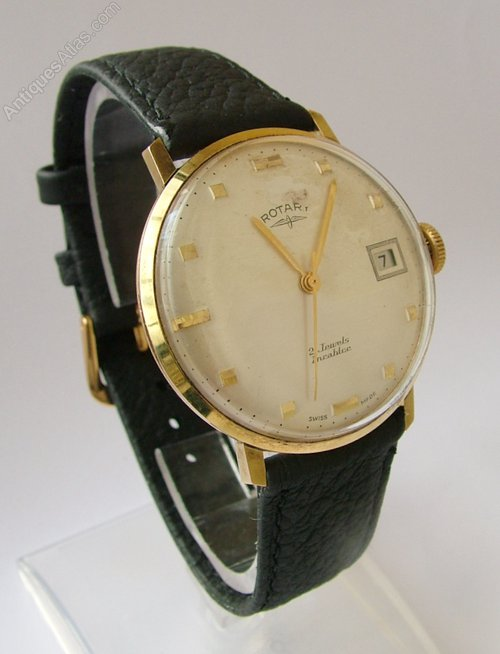 Antiques Atlas - Gents Vintage 1960s Rotary Hand Winding Watch
