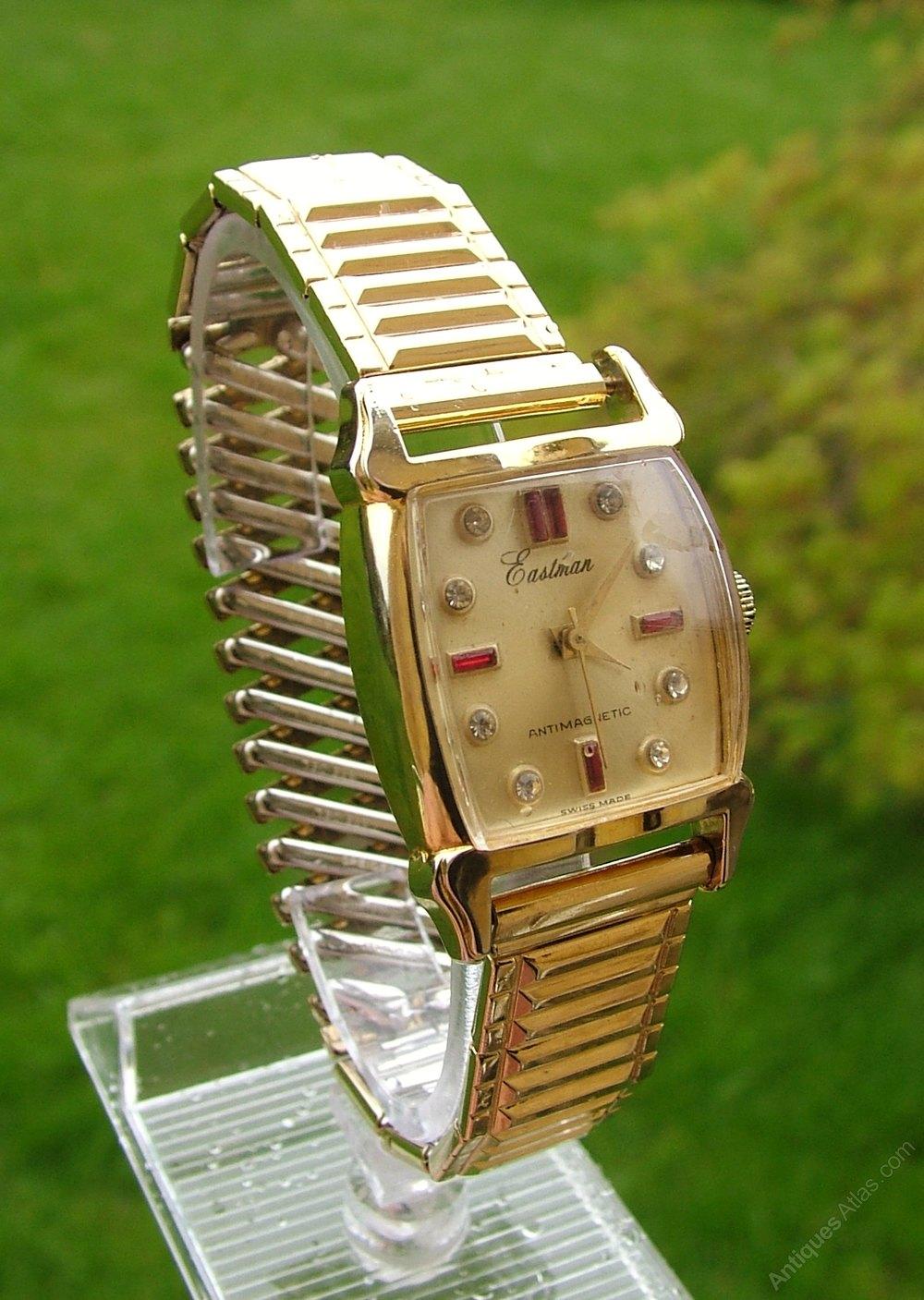Antiques Atlas Vintage 1950s Eastman Wrist Watch